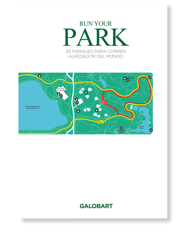 Run your park. Rutas para correr libro
